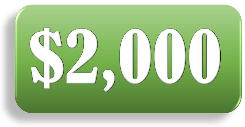 $2000